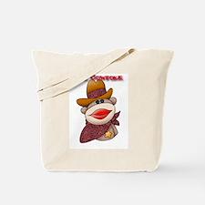 Sock Monkeys Tote Bag