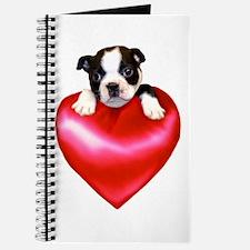 Love Boston Terrier Journal
