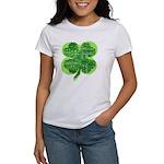 Giant Shamrock Happy Birthday Women's T-Shirt