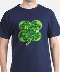 Giant Shamrock Happy Birthday T-Shirt