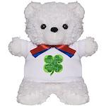 Giant Shamrock Happy Birthday Teddy Bear
