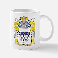 Pavlik Family Crest - Coat of Arms Mugs