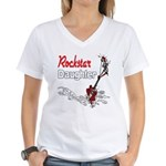 Rockstar Daughter Women's V-Neck T-Shirt