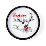 Rockstar Daughter Wall Clock