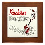 Rockstar Daughter Framed Tile