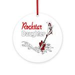 Rockstar Daughter Ornament (Round)