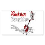 Rockstar Daughter Sticker (Rectangle)