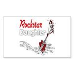Rockstar Daughter Sticker (Rectangle 10 pk)