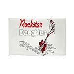 Rockstar Daughter Rectangle Magnet (10 pack)