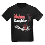 Rockstar Daughter Kids Dark T-Shirt