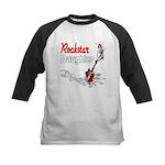 Rockstar Daughter Kids Baseball Jersey