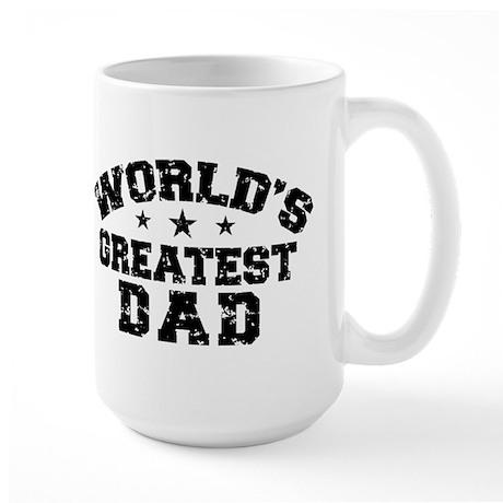 World's Greatest Dad Large Mug