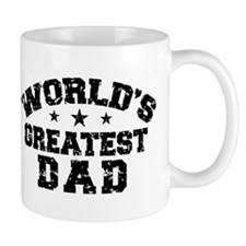 World's Greatest Dad Small Mug