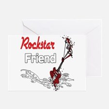 Rockstar Friend Greeting Card