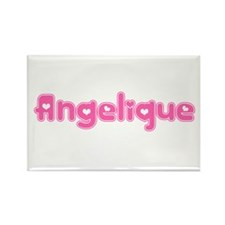 """Angelique"" Rectangle Magnet"