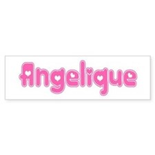 """Angelique"" Bumper Bumper Sticker"