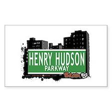 Henry Hudson Pkwy, Bronx, NYC Decal