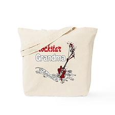 Rockstar Grandma Tote Bag