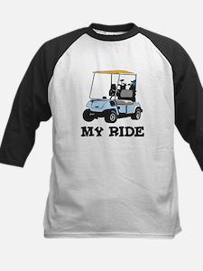 Golf Cart is My Ride  Kids Baseball Jersey