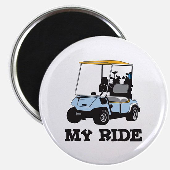 Golf Cart is My Ride Magnet