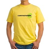 Cannondale Mens Yellow T-shirts