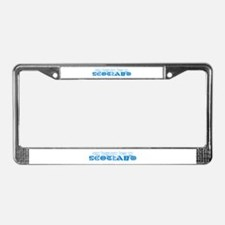 My Heart Lies in Scotland License Plate Frame