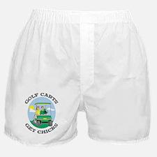 Golf Carts Get Chicks Boxer Shorts