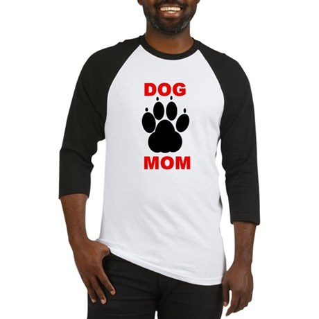 Dog Mom Baseball Jersey
