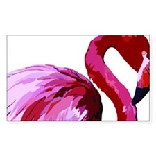 Funny Flamingo florida Decal