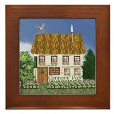 Connors' Pub Framed Tile