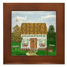 Connors Country Cottage Framed Tile