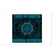 Trust in Sawyer - Dharma Num Postcards (Package of