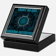 Trust No One - Dharma Num 2 Keepsake Box