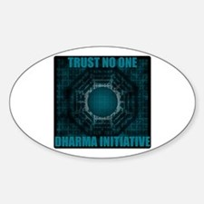 Trust No One - Dharma Num 2 Decal