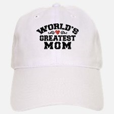 World's Greatest Mom Baseball Baseball Cap