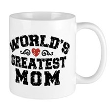 World's Greatest Mom Small Mug