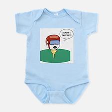 Golf Helmet  Infant Creeper