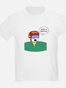Golf Helmet  Kids T-Shirt