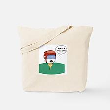 Golf Helmet  Tote Bag
