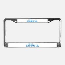 Free Scotia! License Plate Frame