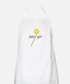 Yellow Daisy Girl Apron