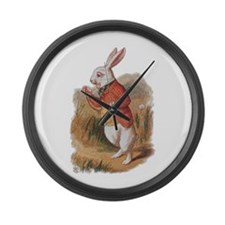 I'm Late! Large Wall Clock