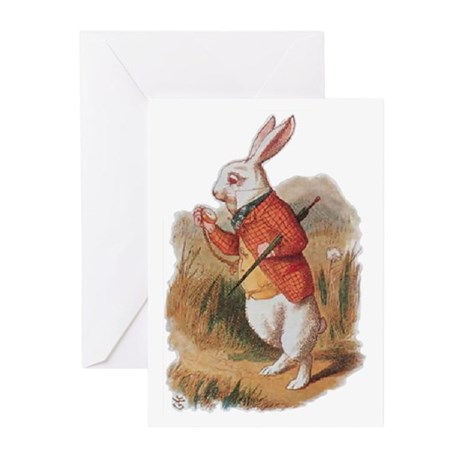 I'm Late! Greeting Cards (Pk of 10)