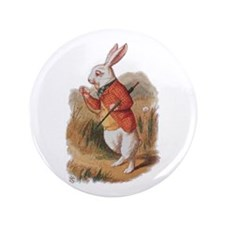 "I'm Late! 3.5"" Button"