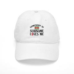 Somebody In Suriname Baseball Cap