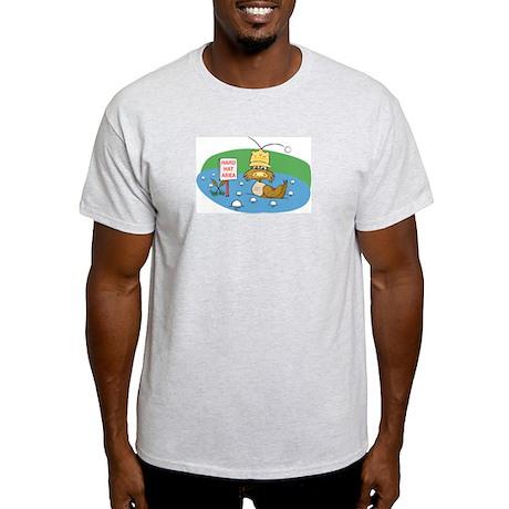 Duck and Golf Balls Ash Grey T-Shirt