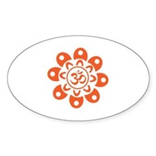 Flower Om Decal