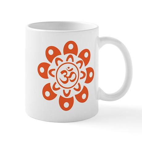 Flower Om Mug