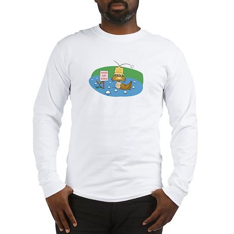 Duck and Golf Balls Long Sleeve T-Shirt