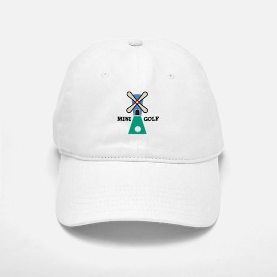 Mini Golf Baseball Baseball Cap